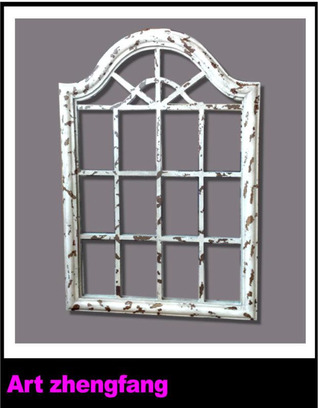 distressed wooden mirror frame window mirror frames - Distressed Window Frame