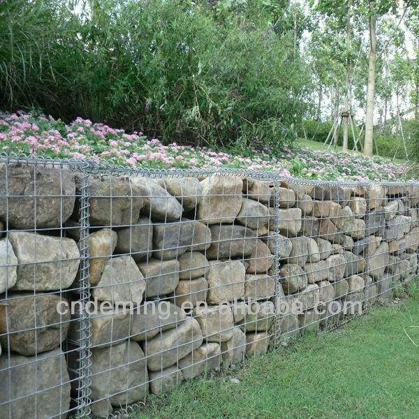Cajas de gaviones de calidad iso piedra jaulas gavi n - Malla para gaviones ...