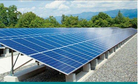 Solar Panel Ballast Mount For Flat Roof