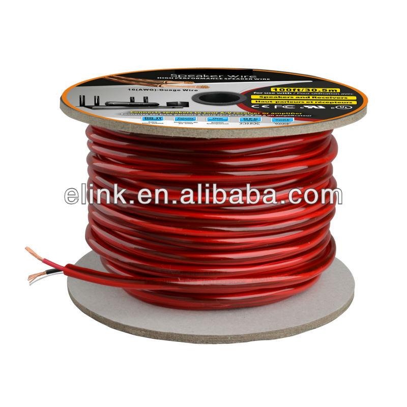 Weiß 14x4 Lautsprecherkabel 14 Awg Draht 4 Kernen 100ft Audiokabel ...