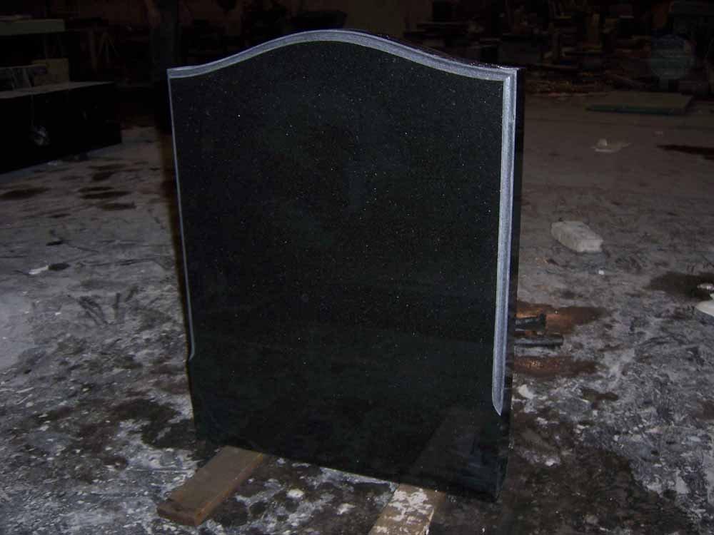 Black Granite Headstones : Shanxi black granite headstone buy
