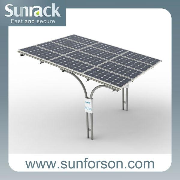 Solar Car Parking Shelter Mounting Racks Buy Solar Car