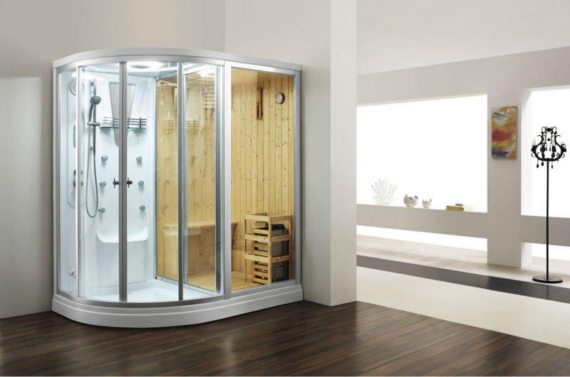 luxury bathroom design sauna steam shower combination roomcabin