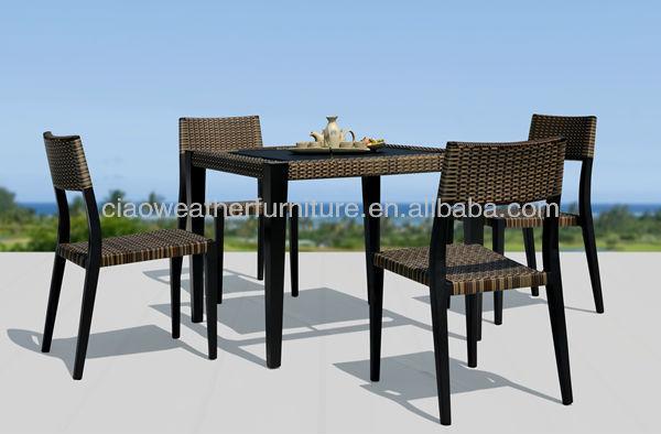 PE Rattan Hotel Outdoor Patio Furniture Manufacturers List