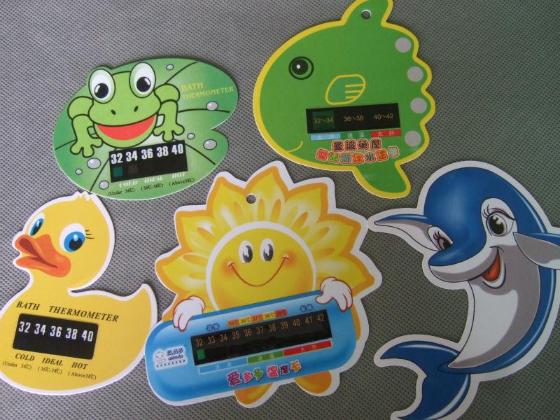 Termometro para bano del bebe con dibujos animados para los ninos del color kid mini termometros - Temperatura bano bebe ...