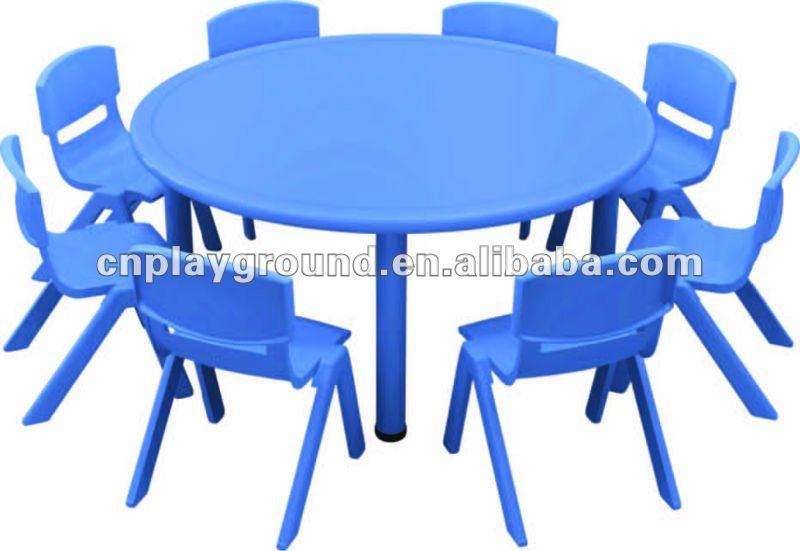 Table D\'étude Pour Enfants,Certificat Ce Bleu Rond Enfants En Plastique  Table Meubles De Jardin D\'enfants (h-05703) - Buy Table En Plastique ...