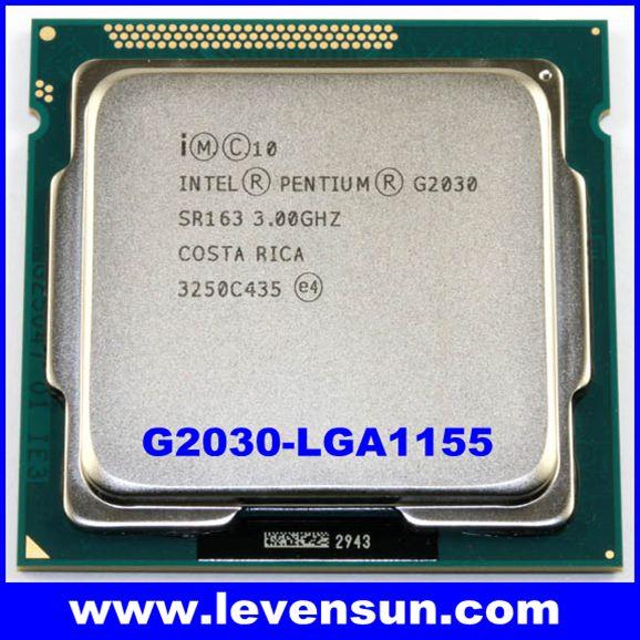 Intel Pentium Dual Core  G2030  SR163 3.00GHZ Processor LGA 1155 CPU