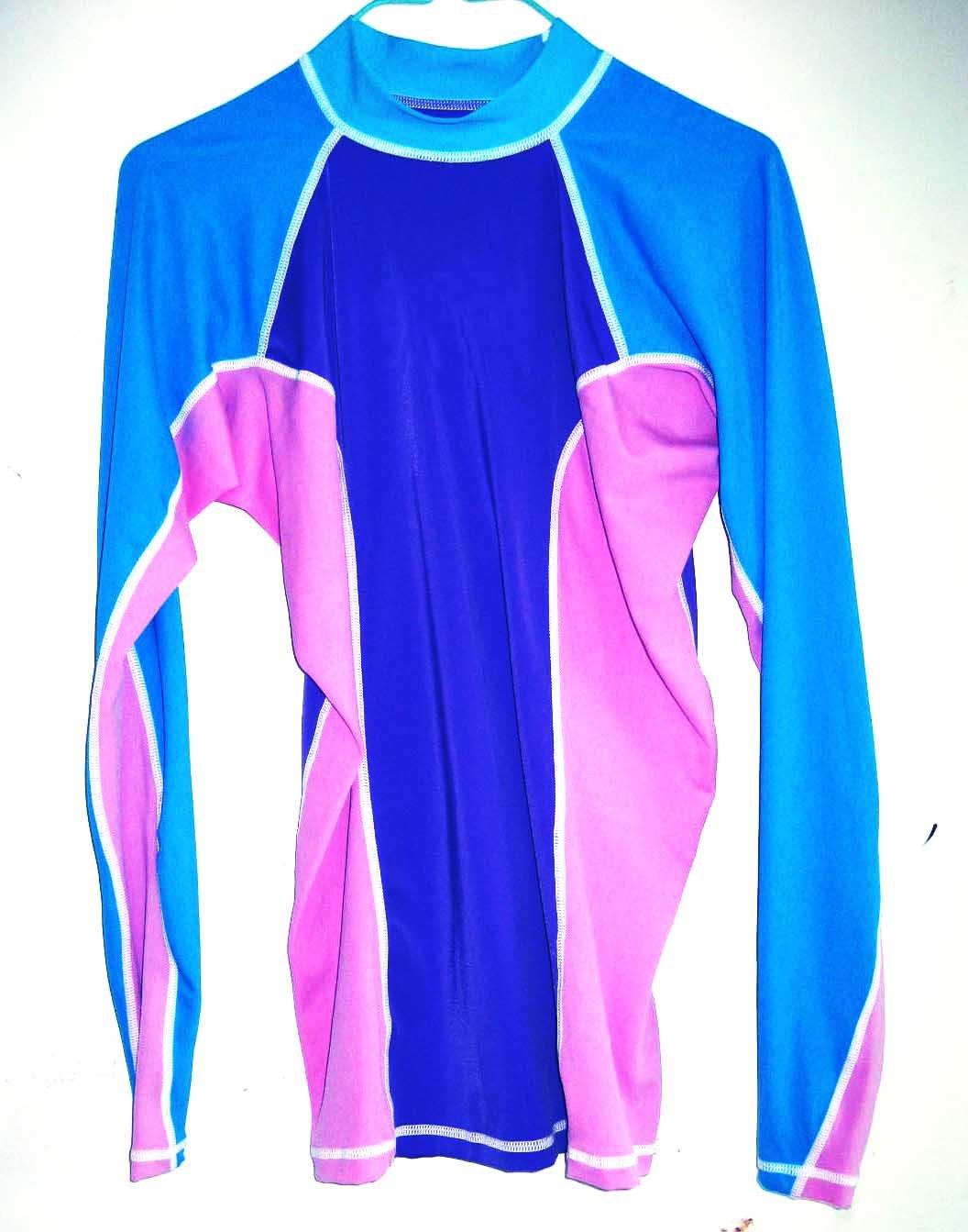 Lycra top rash guard swim shirts surf shirts rash shorts for What is a rash shirt