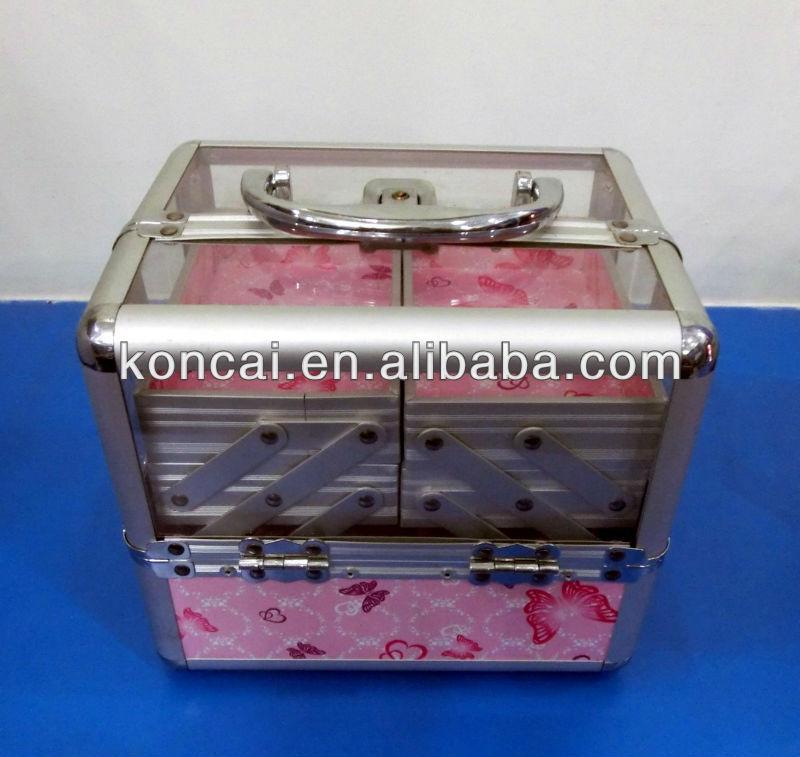 transparen cosmetic case Arylic Box Details 15