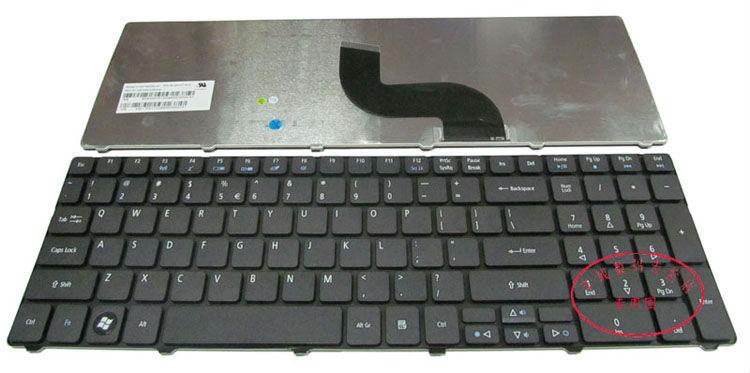 Laptop Keyboard For Acer Aspire 7736 7736z 7738 7738g 5250 5736z ...
