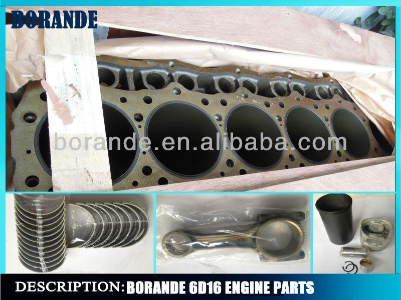 6d16 Mitsubishi Engine Parts