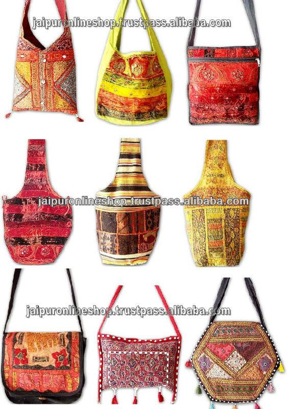 Indian Ethnic Handmade Bag Vintage Tote - Buy Vintage Shoulder Bag ...