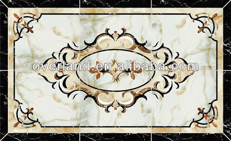 Waterjet Marble Tiles Design Floor Pattern Buy