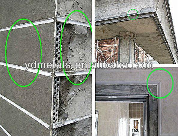 Drywall Stop Bead : Plaster stop bead angle dry wall thin coat