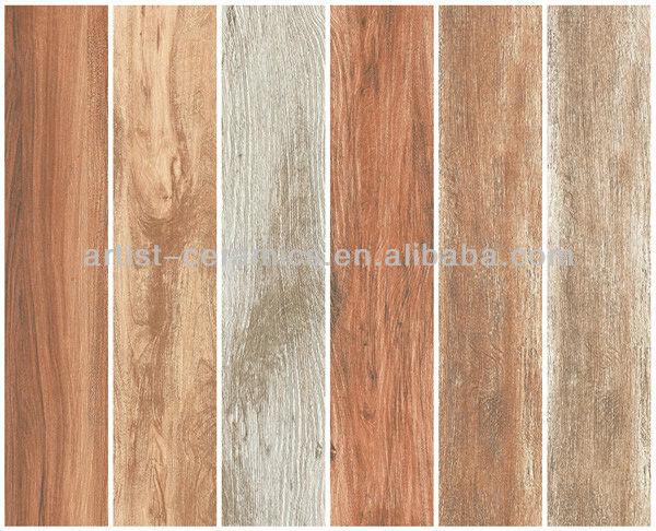 Artist Ceramics Wooden Floor Tiles Standard Size Wood