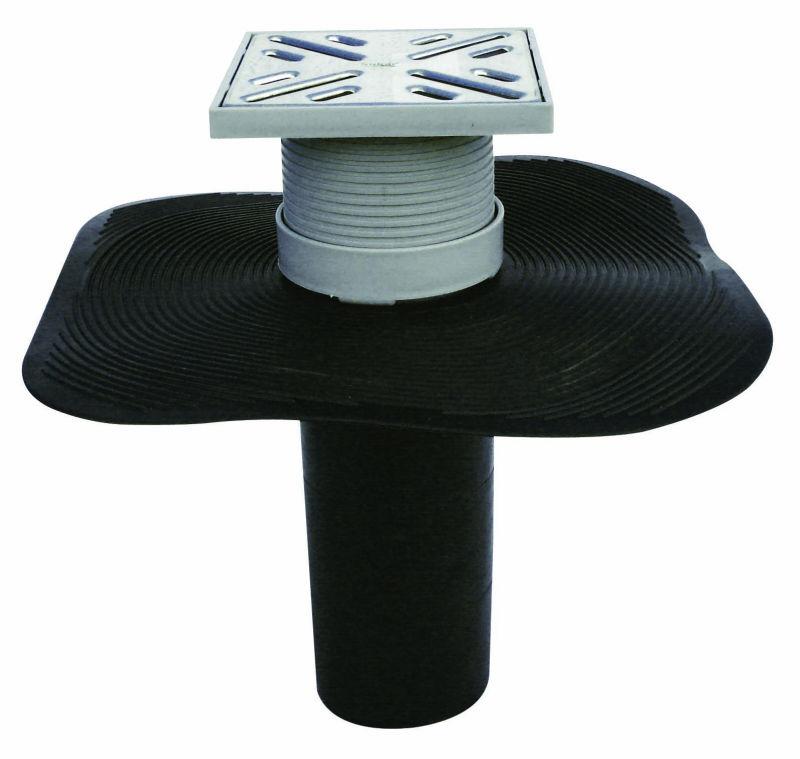 Full Set Adjustable Floor Drain With Epdm 100x100mm Q70