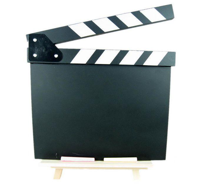 blank film slate - photo #17
