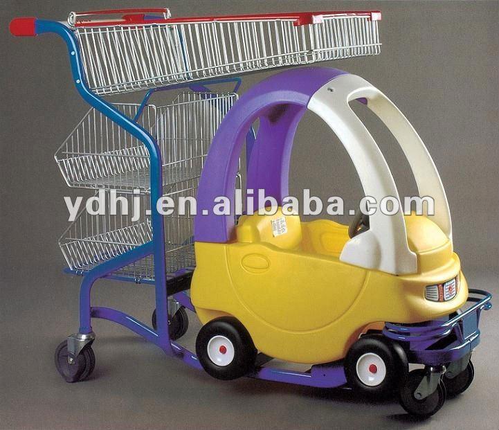Uitzonderlijk Warm Te Koop Kinderen Metalen Winkelwagentje Grappig Speelgoed #DY48
