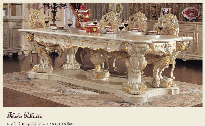 diseo italiano muebles de comedor clsico francs - Muebles Italianos