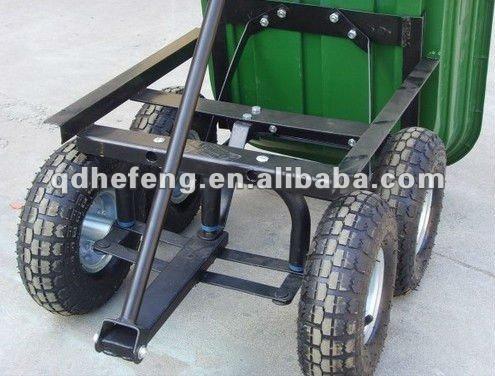 Plastic Garden Trolley/heavy Duty Garden Dump Cart
