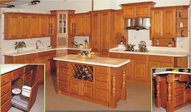Mueble cocina americana muebles cocina pintados con chalk for Mueble cocina americana