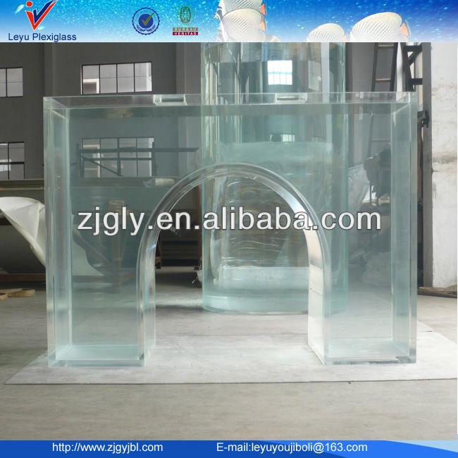 Custom Giant Acrylic Aquarium For Various Shape