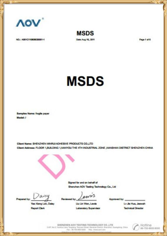 Custom Adhesive Qc Pass Label Manufacturer Qc Passed