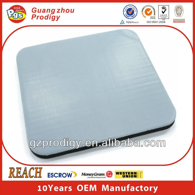 Adhesive PTFE Teflon Pad, Square Furniture Moving Pads