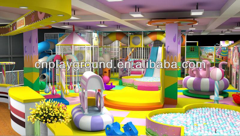 Kids Game Center China Produce Cheap Indoor Playground