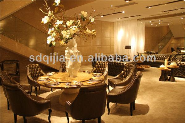 Elegant Klassischen Luxus Möbel Wohnzimmer Esszimmer Stuhl Chesterfield Leder Grau