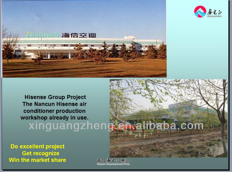 Steel structure prefab hangar buildings