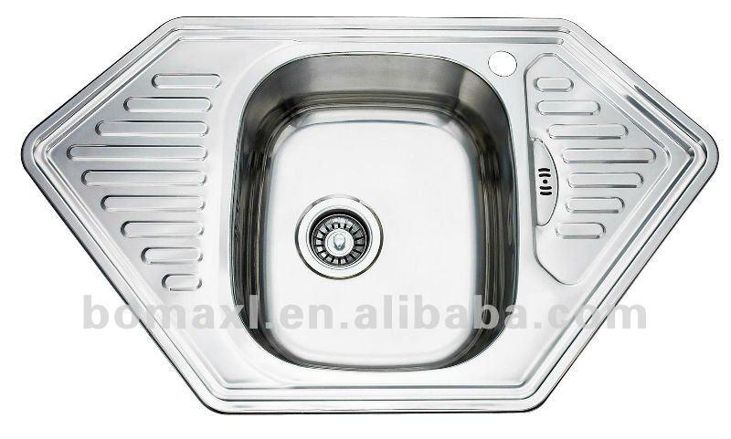 Hexagon Stainless Steel Royal Kitchen Sink - Buy Royal Kitchen ...