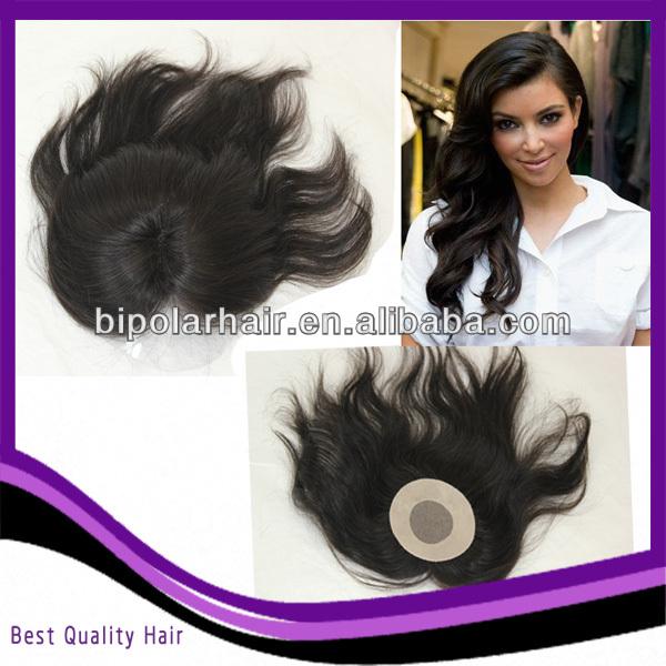 best quality thin skin around hair piece crown - buy hair piece