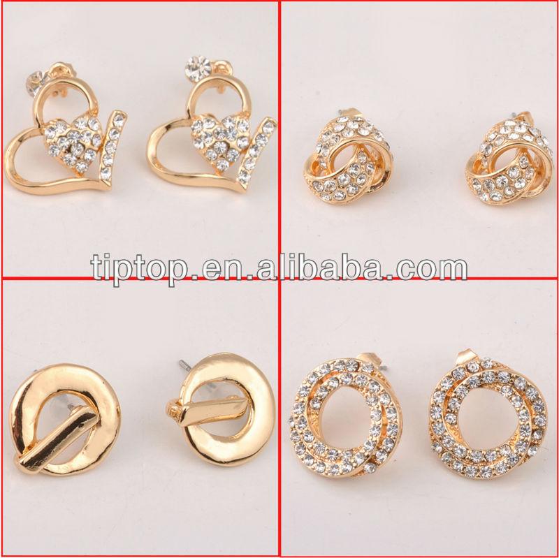 gold jhumka earrings, boys earrings, gold earring 2013 new design ...