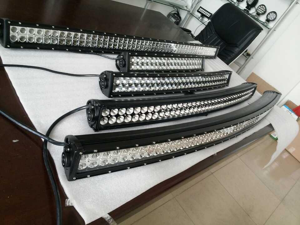 curved led barra de luz w w w w