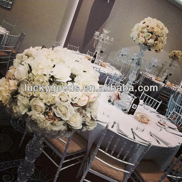 20inch wedding centerpiece flower with blush pink rose and white 20inch wedding centerpiece flower with blush pink rose and white hydrangea junglespirit Choice Image
