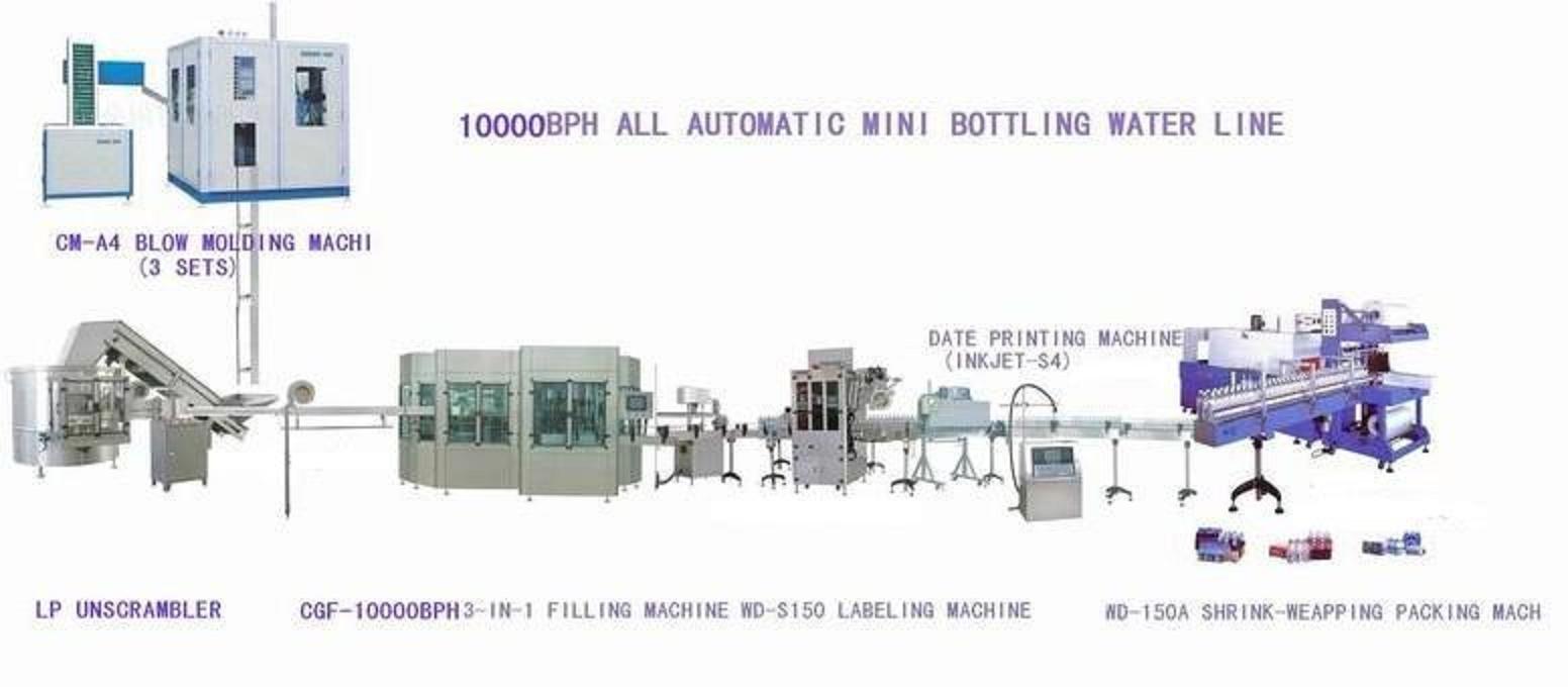 6000l  H Mineral Water Filter Machine For Bottling Plant
