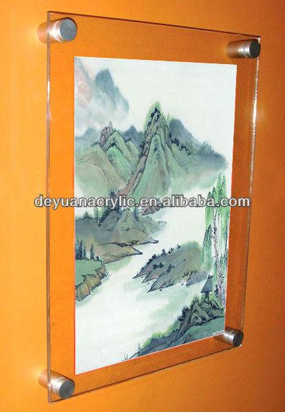 Wholesale Clear Acrylic Poster Frame - Buy Acrylic Frame,Clear ...