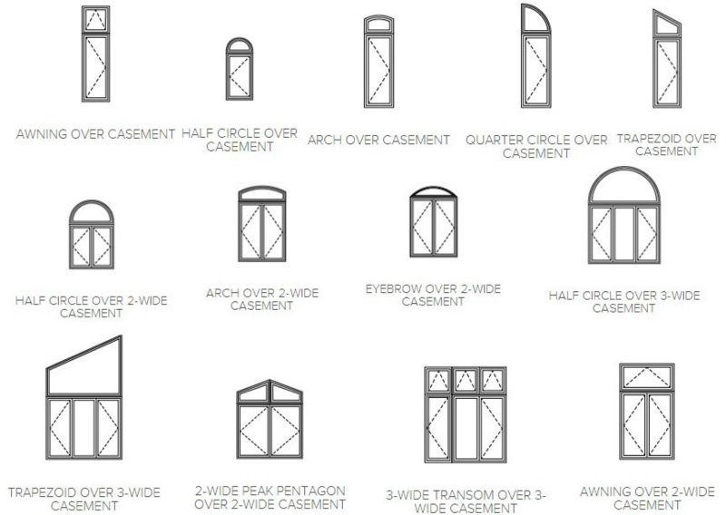 Modern french casement window grills design buy casement for Fensterformen modern