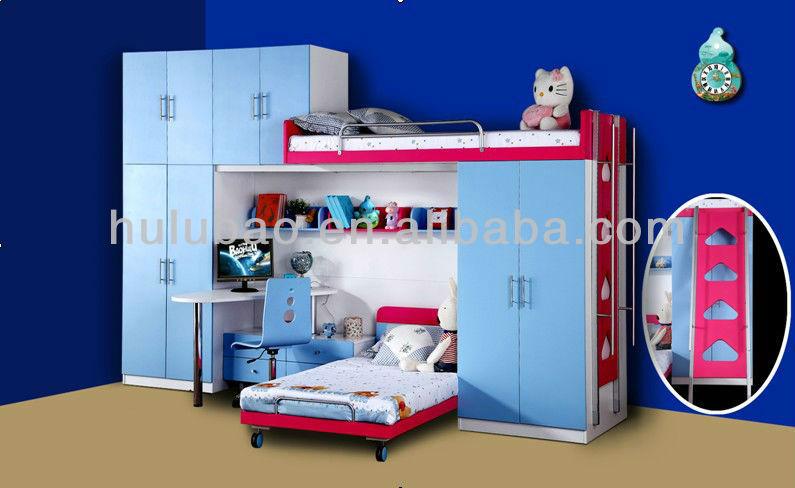 Discount kids furniture childrens bedroom wardrobe bed - Children bedroom furniture cheap ...