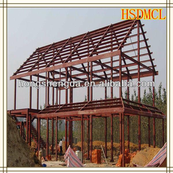 Estructura de acero prefabricada modular casa buy casa prefabricada de acero casa m vil unidad - Casas de acero precios ...
