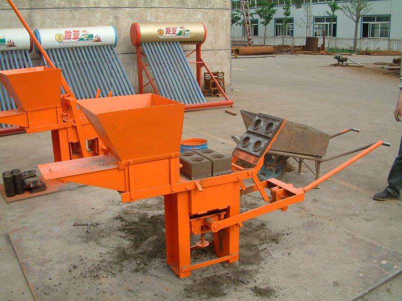 Soil Block Moulding Machine Interlock Block Machine U