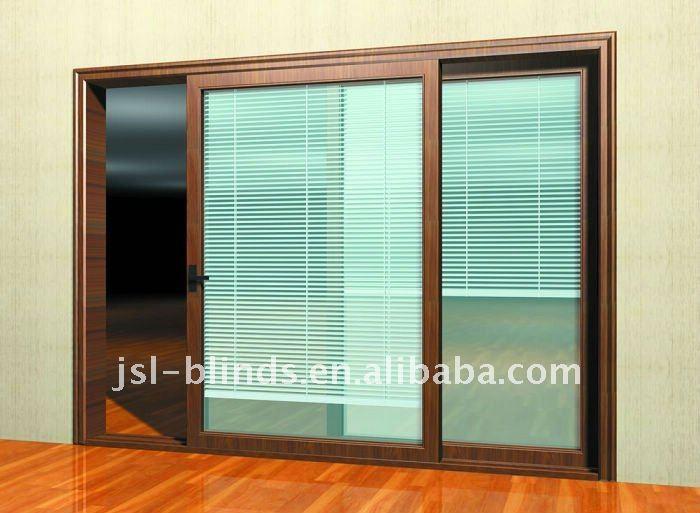 Sliding Glass Door With Blinds Door Mini Blinds Blinds Between The Glass Buy