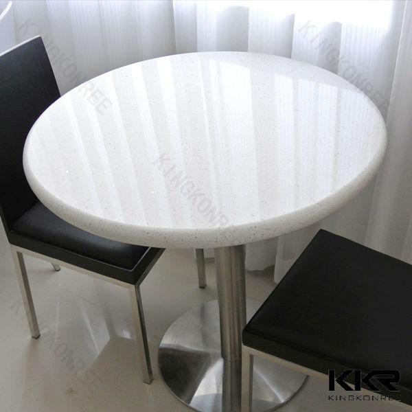 kkr table 60x60,quartz dining table,quartz stone coffee table