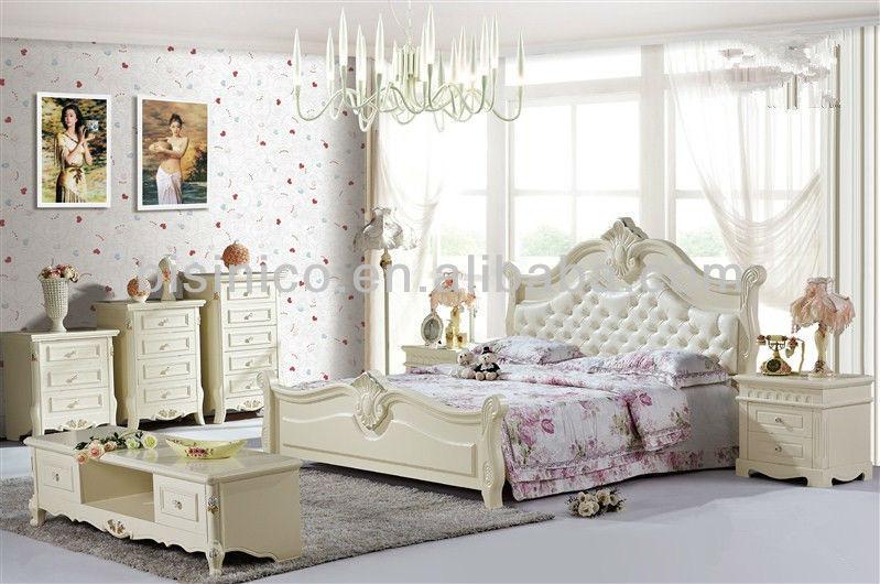Design Slaapkamer Meubilair : Hedendaagse hout bed korea meisje slaapkamermeubilair bed houten