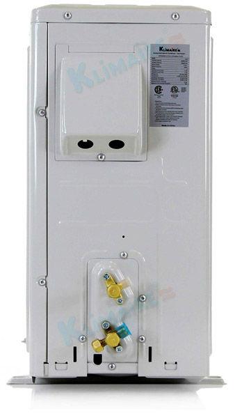 18 000 Btu Klimaire 13 Seer Ductless Mini Split Heat Pump