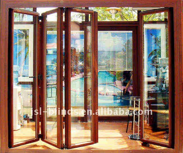 Sliding Glass Door With Blinds door Mini blinds