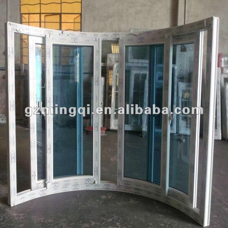 Guangzhou Sliding Pvc Bathroom Windows Sale