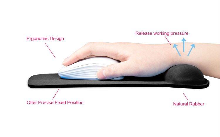 exco personnalis design ergonomique gel poignet tapis de. Black Bedroom Furniture Sets. Home Design Ideas