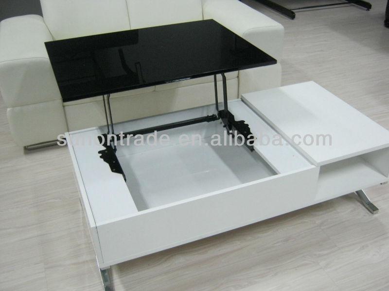 2014 Modern Mdf Mechanism Lift Top Coffee Table